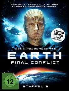 Earth: Final Conflict Staffel 3 (Limited Edition), 6 DVDs