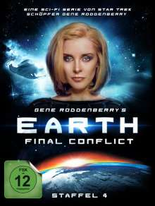 Earth: Final Conflict Staffel 4 (Limited Edition), 6 DVDs