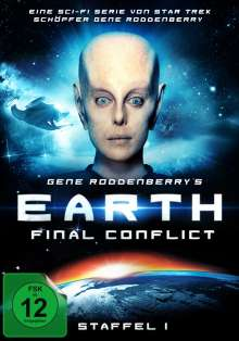 Earth: Final Conflict Staffel 1, 6 DVDs