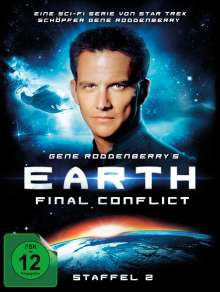 Earth: Final Conflict Season 2, 6 DVDs