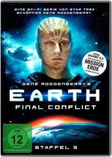 Earth: Final Conflict Staffel 3, 6 DVDs