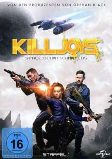 Killjoys - Space Bounty Hunters Staffel 1, 3 DVDs