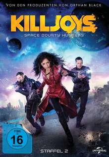 Killjoys - Space Bounty Hunters Season 2, 3 DVDs