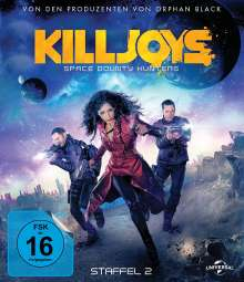 Killjoys - Space Bounty Hunters Season 2 (Blu-ray), 2 Blu-ray Discs