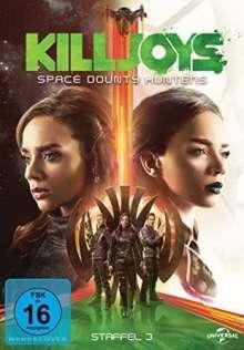 Killjoys - Space Bounty Hunters Season 3, 3 DVDs
