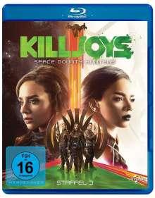 Killjoys - Space Bounty Hunters Season 3 (Blu-ray), 2 Blu-ray Discs