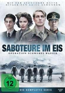 Saboteure im Eis - Operation Schweres Wasser, 3 DVDs
