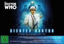 Doctor Who - Siebter Doktor (Special Collector's Edition), 17 DVDs