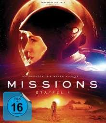 Missions Staffel 1 (Blu-ray), 2 Blu-ray Discs
