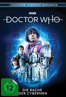 Doctor Who - Vierter Doktor: Die Rache der Cybermen (Blu-ray & DVD im Mediabook), 1 Blu-ray Disc und 2 DVDs