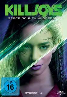 Killjoys - Space Bounty Hunters Staffel 4, 3 DVDs