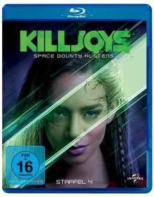 Killjoys - Space Bounty Hunters Staffel 4 (Blu-ray), 2 Blu-ray Discs