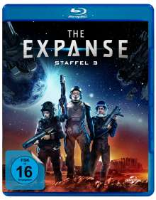 The Expanse Staffel 3 (Blu-ray), 3 Blu-ray Discs