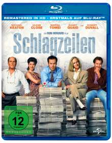 Schlagzeilen (Blu-ray), Blu-ray Disc