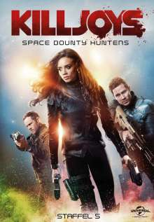 Killjoys - Space Bounty Hunters Staffel 5 (finale Staffel), 3 DVDs