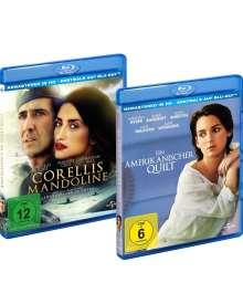Corellis Mandoline / Ein amerikanischer Quilt (Blu-ray), 2 Blu-ray Discs