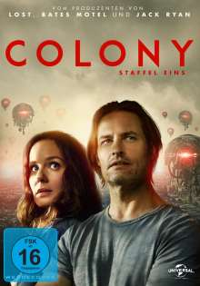 Colony Staffel 1, 3 DVDs