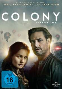 Colony Staffel 2, 4 DVDs