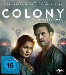 Colony Staffel 2 (Blu-ray), 3 Blu-ray Discs