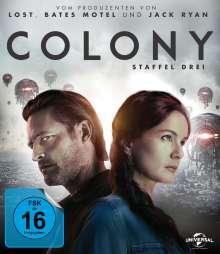 Colony Staffel 3 (Blu-ray), 3 Blu-ray Discs
