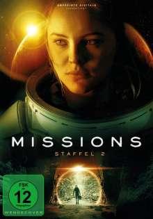 Missions Staffel 2, 2 DVDs