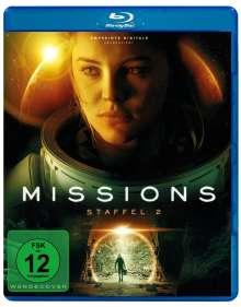 Missions Staffel 2 (Blu-ray), Blu-ray Disc