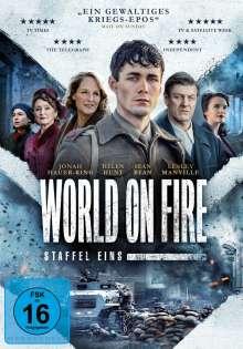 World On Fire Staffel 1, 3 DVDs