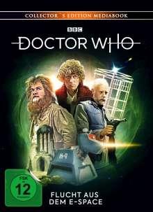 Doctor Who - Vierter Doktor: Flucht aus dem E-Space (Blu-ray & DVD im Mediabook), 2 Blu-ray Discs und 1 DVD