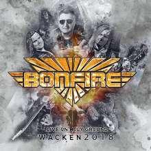 Bonfire: Live On Holy Ground - Wacken 2018, CD