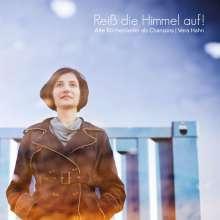 Vera Hahn: Reiß die Himmel auf! Kirchenlieder als Chansons, CD