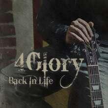 4Glory: Back In Life, CD