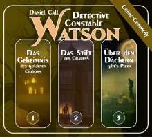 Detective Constable Watson 3CD Box 1 (Folge 1-3), 3 CDs
