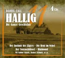Hallig 11 - Die ganze Geschichte, 4 CDs