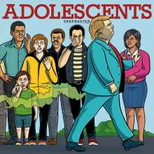 Adolescents: Cropduster (180g) (Limited-Edition), LP