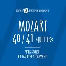 """Wolfgang Amadeus Mozart (1756-1791): Symphonien Nr.40 & 41 (in der Bearbeitung für die """"taschenphilharmonie""""), CD"""