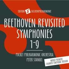 "Ludwig van Beethoven (1770-1827): Symphonien Nr.1-9 (in der Bearbeitung für die ""taschenphilharmonie""), 6 CDs"