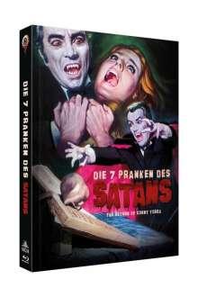 Die 7 Pranken des Satans (Blu-ray & DVD im Mediabook), 1 Blu-ray Disc und 1 DVD