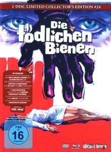 Die tödlichen Bienen (Blu-ray & DVD im Mediabook), Blu-ray Disc