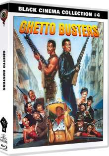 Ghetto Busters (Black Cinema Collection) (Blu-ray & DVD), 1 Blu-ray Disc und 1 DVD