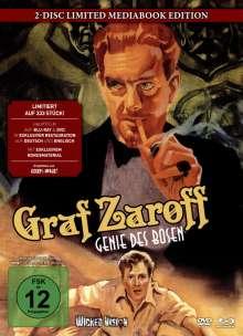 Graf Zaroff - Genie des Bösen (Blu-ray & DVD im Mediabook), 1 Blu-ray Disc und 1 DVD