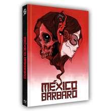 México Bárbaro (Blu-ray & DVD im Mediabook), 1 Blu-ray Disc und 1 DVD