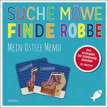 Suche Möwe - Finde Robbe. Mein Ostsee Memo, Diverse