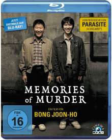 Memories of Murder (Blu-ray), Blu-ray Disc