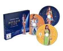 Andrea Berg: Mosaik Live: Die Arena Tour, 2 CDs und 1 DVD