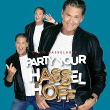 David Hasselhoff: Party Your Hasselhoff (Green/Blue & White Splatter Vinyl), LP