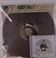 Buddy Holly: My Life (180g) (Limited Numbered Edition) (Marbled Vinyl), 1 LP und 1 CD