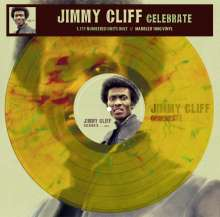 Jimmy Cliff: Celebrate (180g) (Limited Handnumbered Edition) (Clear Yellow W/ Green & Red Marbled Vinyl), LP