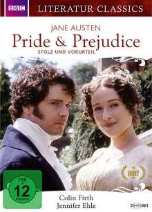 Pride & Prejudice - Stolz und Vorurteil (1995), 2 DVDs