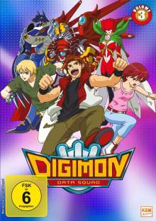 Digimon Data Squad Vol. 3, 3 DVDs