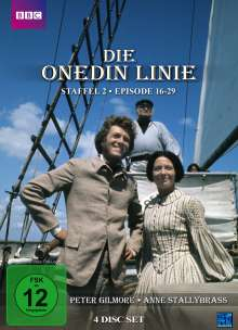 Die Onedin-Linie Staffel 2 (Episoden 16-29), 4 DVDs